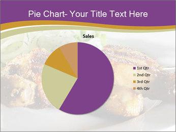 Grilled Chicken Legs PowerPoint Template - Slide 36