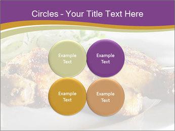 Grilled Chicken Legs PowerPoint Template - Slide 38