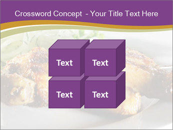 Grilled Chicken Legs PowerPoint Template - Slide 39