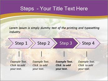 Grilled Chicken Legs PowerPoint Template - Slide 4