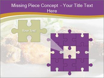Grilled Chicken Legs PowerPoint Template - Slide 45