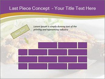 Grilled Chicken Legs PowerPoint Template - Slide 46