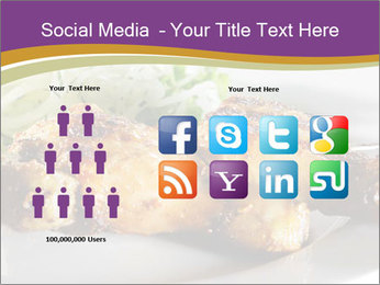 Grilled Chicken Legs PowerPoint Template - Slide 5