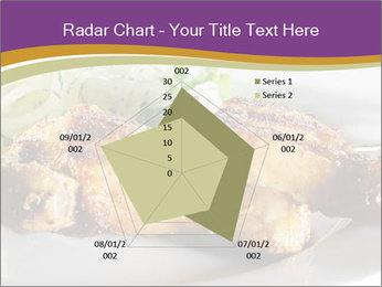Grilled Chicken Legs PowerPoint Template - Slide 51
