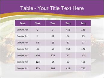 Grilled Chicken Legs PowerPoint Template - Slide 55