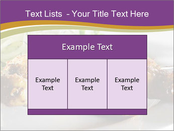 Grilled Chicken Legs PowerPoint Template - Slide 59