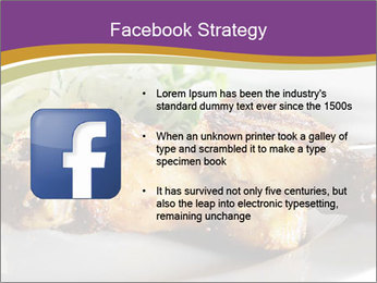 Grilled Chicken Legs PowerPoint Template - Slide 6