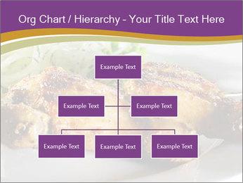 Grilled Chicken Legs PowerPoint Template - Slide 66