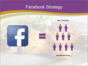 Grilled Chicken Legs PowerPoint Template - Slide 7