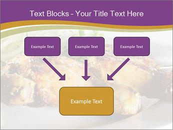 Grilled Chicken Legs PowerPoint Template - Slide 70