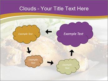 Grilled Chicken Legs PowerPoint Template - Slide 72