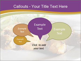 Grilled Chicken Legs PowerPoint Template - Slide 73