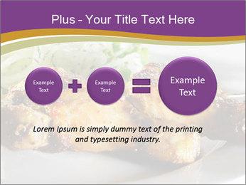 Grilled Chicken Legs PowerPoint Template - Slide 75