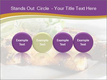 Grilled Chicken Legs PowerPoint Template - Slide 76