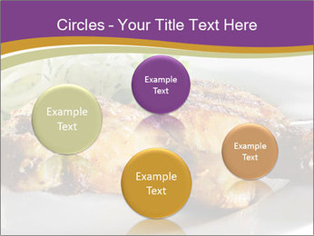 Grilled Chicken Legs PowerPoint Template - Slide 77