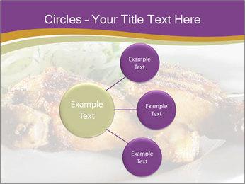 Grilled Chicken Legs PowerPoint Template - Slide 79