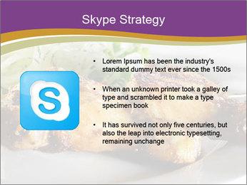 Grilled Chicken Legs PowerPoint Template - Slide 8