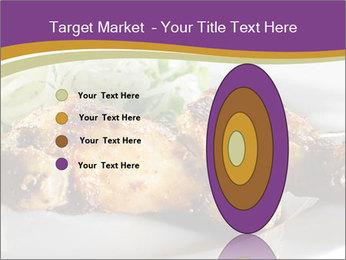 Grilled Chicken Legs PowerPoint Template - Slide 84