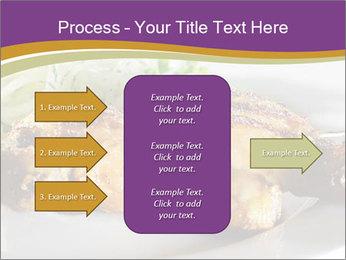 Grilled Chicken Legs PowerPoint Template - Slide 85