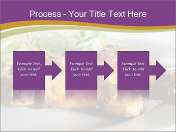 Grilled Chicken Legs PowerPoint Template - Slide 88