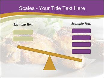 Grilled Chicken Legs PowerPoint Template - Slide 89