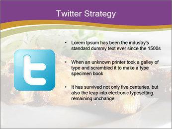 Grilled Chicken Legs PowerPoint Template - Slide 9