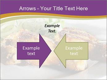 Grilled Chicken Legs PowerPoint Template - Slide 90