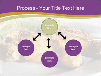 Grilled Chicken Legs PowerPoint Template - Slide 91