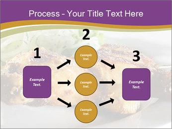 Grilled Chicken Legs PowerPoint Template - Slide 92