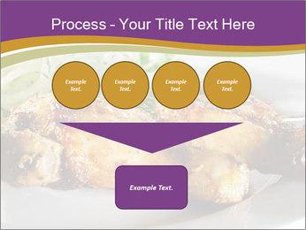 Grilled Chicken Legs PowerPoint Template - Slide 93