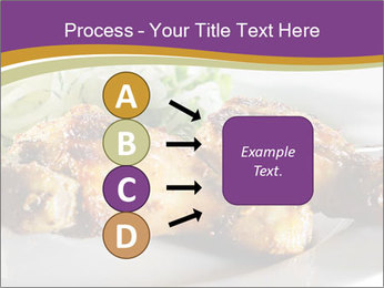 Grilled Chicken Legs PowerPoint Template - Slide 94