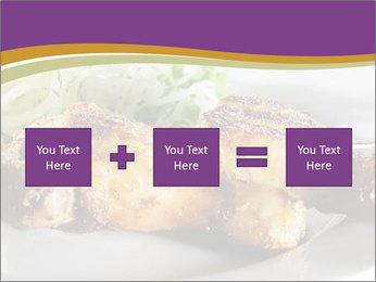 Grilled Chicken Legs PowerPoint Template - Slide 95