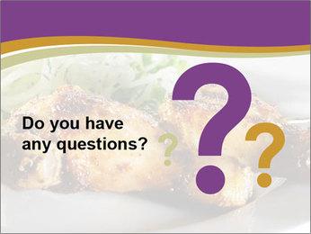 Grilled Chicken Legs PowerPoint Template - Slide 96