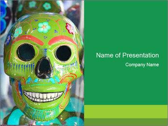 Skull PowerPoint Template - Slide 1