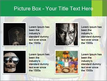 Skull PowerPoint Template - Slide 14