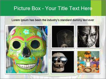 Skull PowerPoint Template - Slide 19