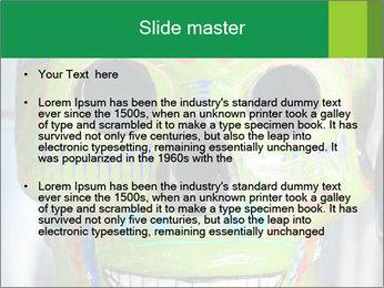 Skull PowerPoint Template - Slide 2