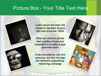 Skull PowerPoint Template - Slide 24