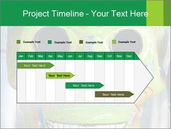 Skull PowerPoint Template - Slide 25
