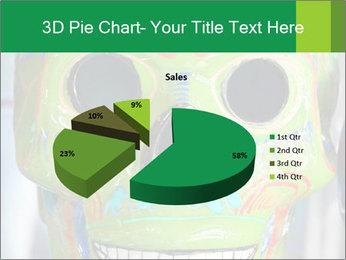 Skull PowerPoint Template - Slide 35