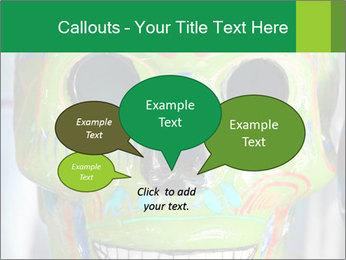 Skull PowerPoint Template - Slide 73