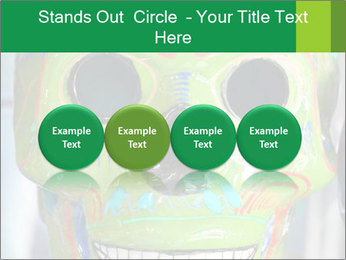 Skull PowerPoint Template - Slide 76