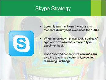Skull PowerPoint Template - Slide 8
