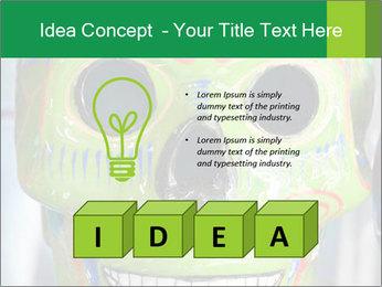 Skull PowerPoint Template - Slide 80