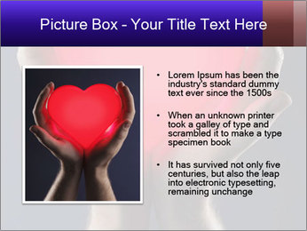 Man holding PowerPoint Template - Slide 13