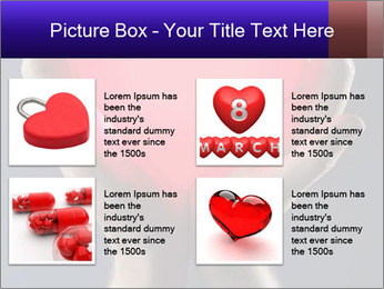 Man holding PowerPoint Template - Slide 14