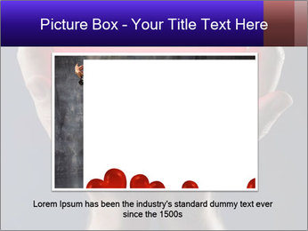 Man holding PowerPoint Template - Slide 16