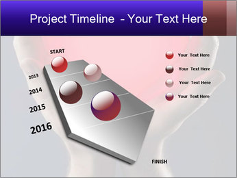 Man holding PowerPoint Template - Slide 26