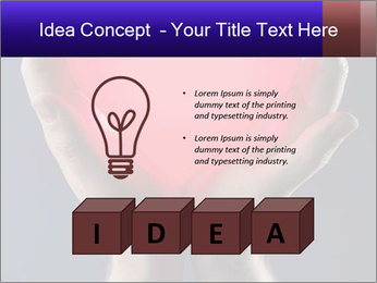 Man holding PowerPoint Template - Slide 80