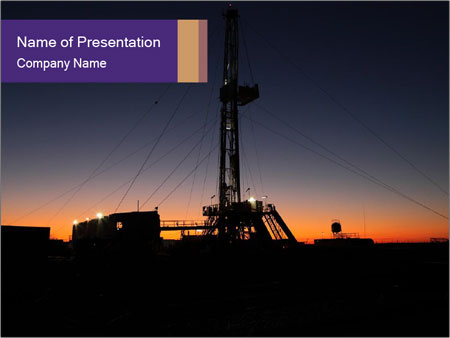 Oil rig powerpoint template backgrounds id 0000091570 oil rig powerpoint template toneelgroepblik Images